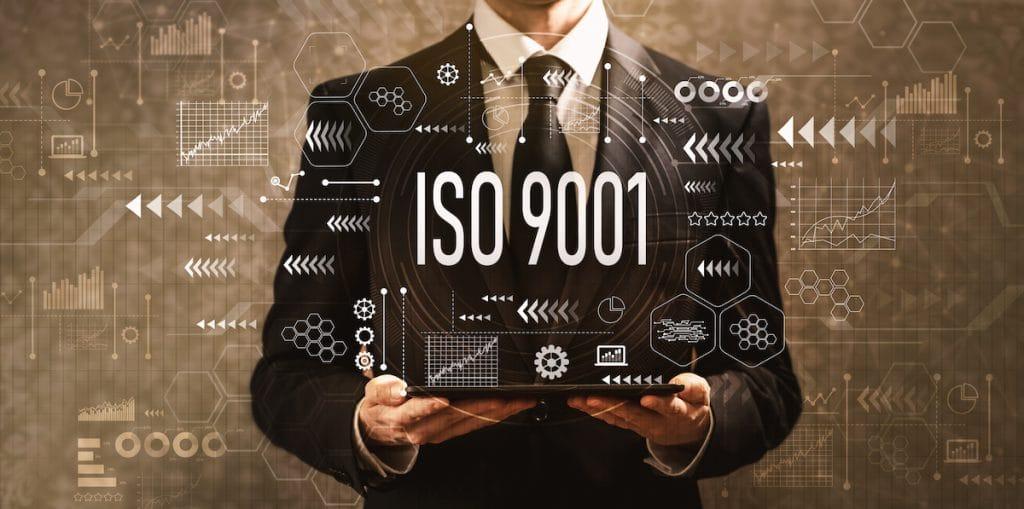 Interimsbescheinigung ISO 9001