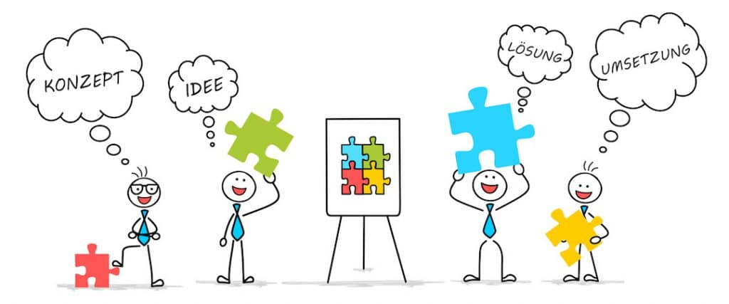 Unternehmensberatung Konzept Umsetzung