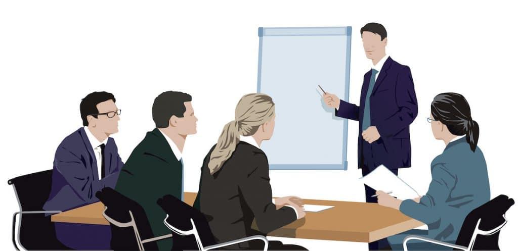 Führung und Verpflichtung Top Management